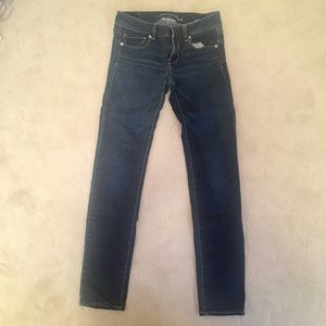 American Eagle skinny super stretch jeans